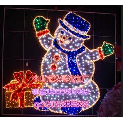 LED霓虹灯装饰造型灯创意户外景观灯立体圣诞图案装饰灯厂家图片