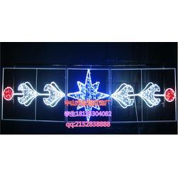 灯杆LED过街灯水果LED路灯杆造型灯路灯杆草莓装饰灯雪花凤凰