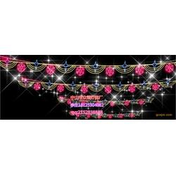 众熠2019造型灯厂家直销LED灯串 户外防水亮化 圣诞节日彩灯 商场装饰冰条灯图片