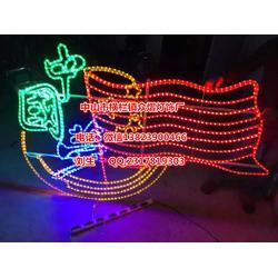 定制节日装饰灯 灯杆图案灯 led过街灯 路灯杆中国梦图片