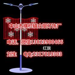 路灯灯杆美化亮化灯、led发光国旗造型灯、中国结造型灯国内一家专注图片