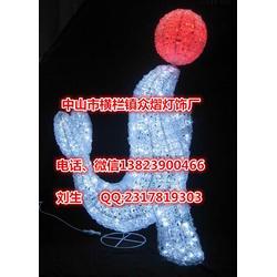 3D立体蝴蝶造型灯led圣诞动物灯led灯串拉丝滴胶工艺图片