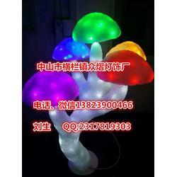 圣诞动物造型灯亚克力滴胶动物造型灯LED造型灯3D立体磨菇树图片