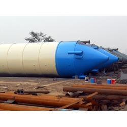 甘肃水泥罐安装-高强度水泥罐优选甘肃鲁泰机械设备图片