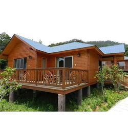 景区木屋-在哪里能买到耐用的竹屋图片