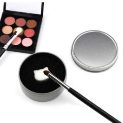 洗刷海绵铁盒化妆刷干洗海绵化妆刷工具清洁图片