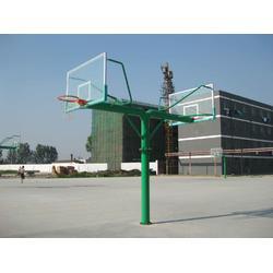 泗水地埋圓管籃球架,泗水電動液壓籃球架,泗水平箱寬臂籃球架,奧星體育