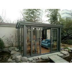 (永盛门窗)烟台阳光房 烟台铝木复合门窗 烟台铝包木门窗图片