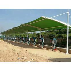 安徽充电车棚厂家直销-专业设计制造充电车棚图片