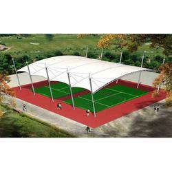 天津體育設施-安裝快捷的膜結構體育設施推薦圖片