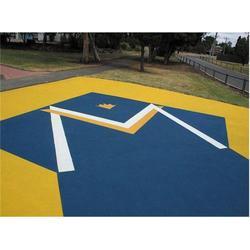 郴州彩色防滑-郴州可靠的路面彩色防滑施工图片