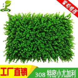308小尤加利厂家塑料花植物墙体门头招牌装饰图片