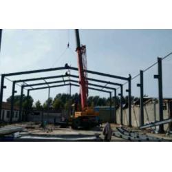 鸿乐钢结构 烟台钢结构翻新 烟台工地围挡 烟台厂房钢结构图片