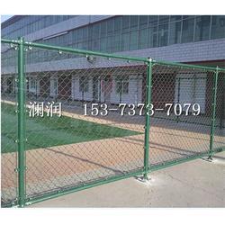 厂家在线直销勾花球场围栏网 篮球场围栏网可定制 足球场护栏网图片