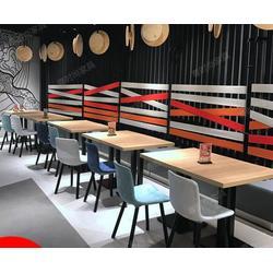 主题西餐厅沙发餐桌椅西餐厅茶餐厅餐饮卡座沙发图片