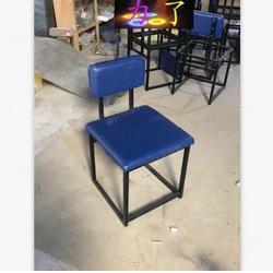 金属椅子,定制简约轻奢风餐椅报价,中西餐厅桌子椅子组合图片