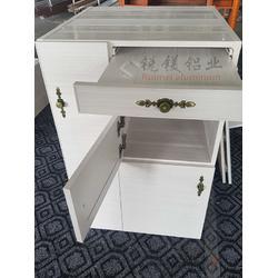 铝合金床头柜现代简约迷你收纳储物柜卧室床边柜北欧式现代全铝小柜子代发图片
