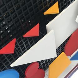 高端创意空间的表现形式岩棉天花板图片