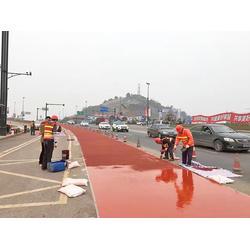 彩色沥青防滑路面专业施工单位:拓彩防滑路面系统图片
