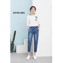 韩式伊人 夏季牛仔裤折扣图片