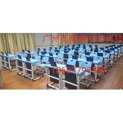 培訓室教室專用課桌升降屏圖片