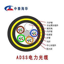 ADSS光缆,24芯光缆,ADSS光缆厂家中泰海华图片