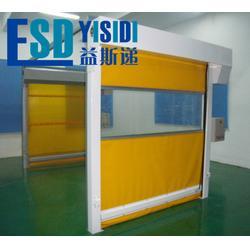 快速卷帘门生产厂家,超大柔性堆积门,高速折叠卷帘门图片