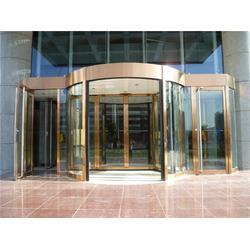旋转门厂家 酒店旋转门安装 转转门控图片