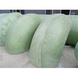 专业生产各种类形各种行业专用耐腐蚀高性能玻璃钢弯头图片