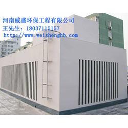 风冷模块机组噪声治理,热泵机组噪音治理,威盛噪声治理公司图片