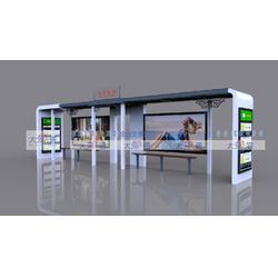 现代候车亭DA-H4002图片