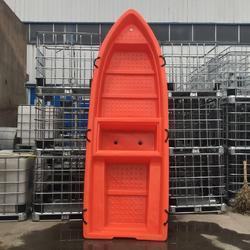 廠家供應3米帶倉塑料漁船垂釣觀光船市政河道清淤船圖片