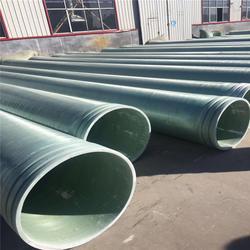 玻璃钢管道1耐酸玻璃钢电缆管1玻璃钢夹砂管安装图片