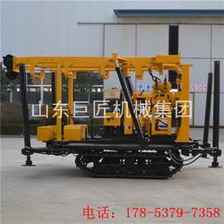 巨匠集团供应XYD-130履带式液压钻机全自动钻水井钻机图片