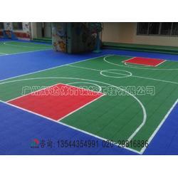 拼装地板篮球场施工建设-塑胶篮球场专业施工建设工程厂家图片