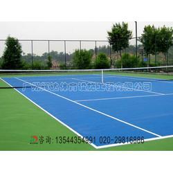 專業網球場施工建設-網球場圍網施工建設廠家圖片