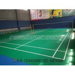 塑膠PVC羽毛球場地膠-專業羽毛球場建設公司圖片