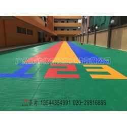 幼儿园悬浮拼装地板施工建设及材料生产厂家图片