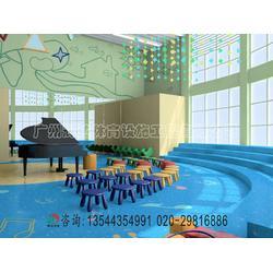 供应幼儿园专用PVC塑胶地板安装 产品图片