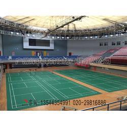PVC羽毛球场地胶专业羽毛球场建设公司图片