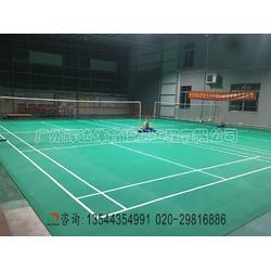 塑胶PVC羽毛球场建设-室内羽毛球场厂家图片