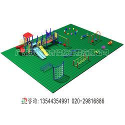 安全地垫施工建设及材料生产厂家图片