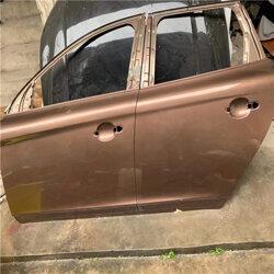 沃尔沃S80车门 拉手 玻璃框架原装拆车件 沃尔沃富豪原装车门多少钱图片