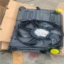 大众途锐电子扇 水箱框架 四方架原装拆车件 原厂配件图片