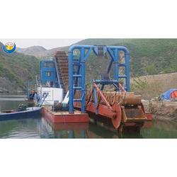 淘金船 淘金设备图片