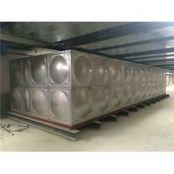 海南组合式不锈钢水箱施工-绿凯水箱图片