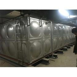 河北110吨201不锈钢水箱-绿凯水箱