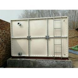 395吨玻璃钢消防水箱-绿凯自主安装队图片