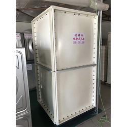 32吨玻璃钢消防水箱定做-32吨玻璃钢消防水箱-绿凯水箱质优图片