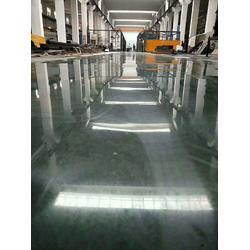 宁波固化地坪-弘康固化剂地坪-染色固化地坪